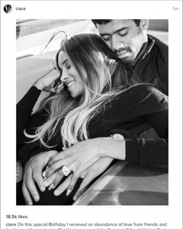 Ciara and Russell Wilson announced their pregnancy on Instagram