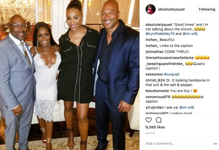 cynthia bailey dating will jones real housewives of atlanta quad webb lunceford instagram