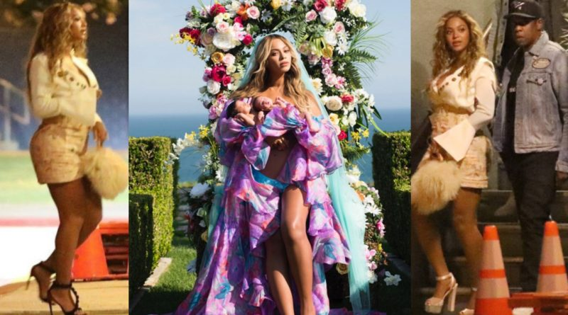 beyonce twins rumi sir carter jay z first picture instagram vic mensa listening party