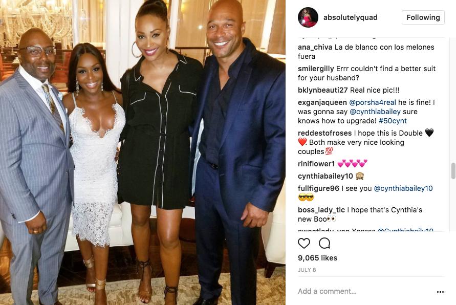 cynthia bailey dating will jones real housewives of atlanta season 10 rumors peter thomas response