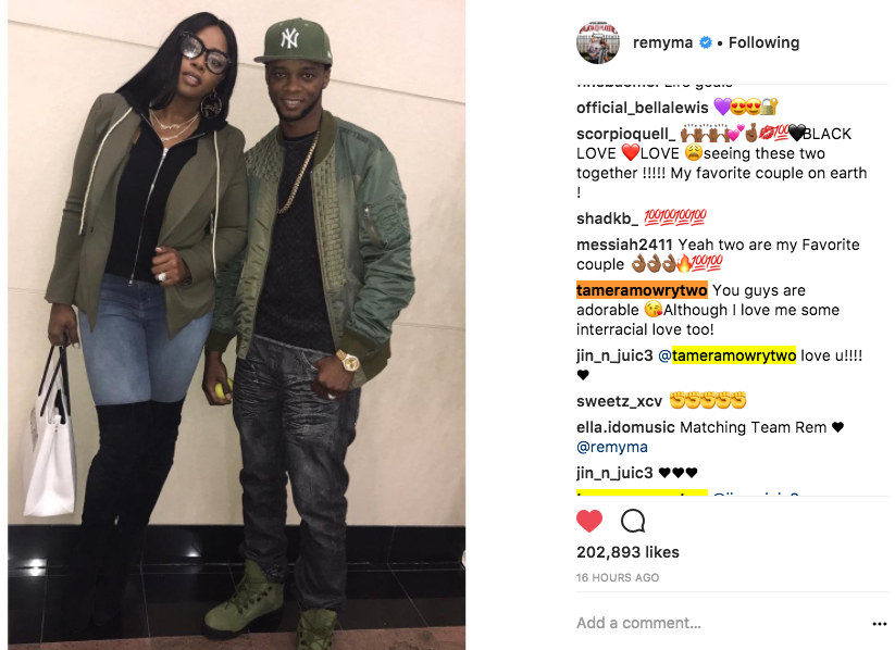 tamera mowry housley remy ma comment