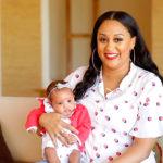 """Tia Mowry Hardrict Shows Off Her Newborn Baby Girl """"Cairo Tiahna"""""""
