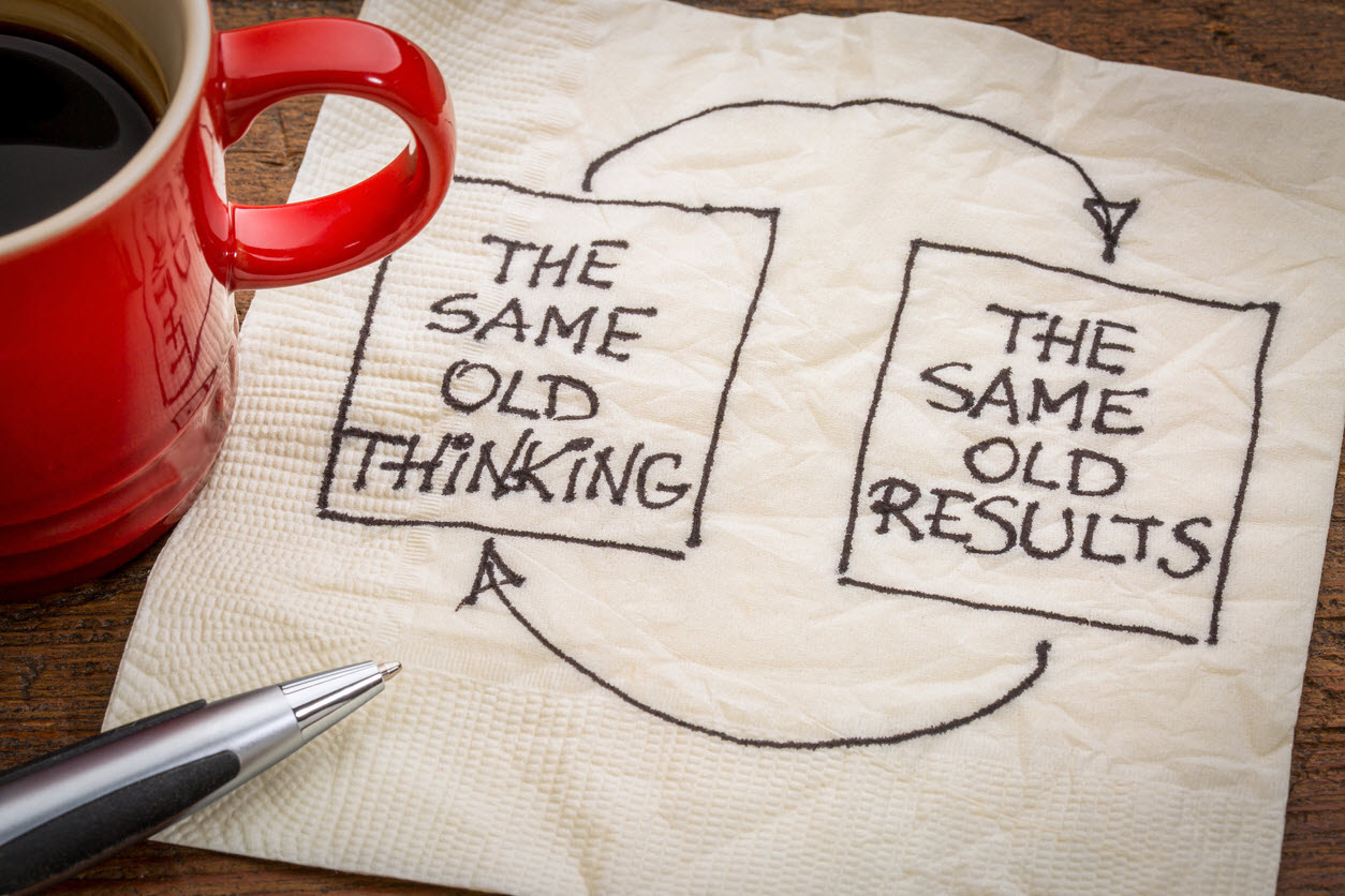 same thinking same results new year's resolutions