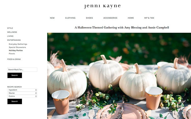 ACC Press Jenni Kayne Halloween