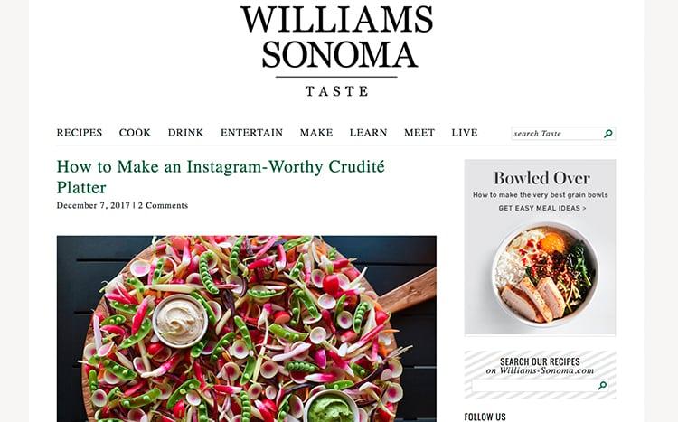 ACC Williams Sonoma