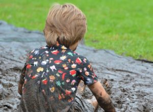 My Child Likes to be Dirty! What Should I Do?