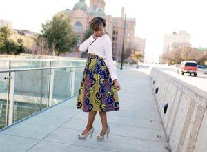 Ankara Skirts Tips How to Wear them Stylishly