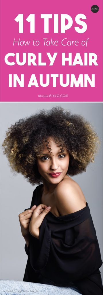 Tips How to Take Care of Your Curly Hair This Autumn