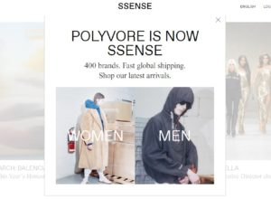 Deception to Boost Sales Ssense.com Acquired Polyvore and Now Tries to Thrive on Polyvore Visitors