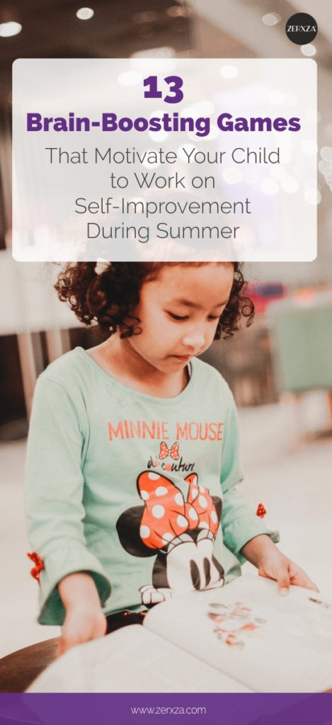 13 Brain Boosting Games That Motivate Your Child to Work on Self-Improvement During Summer