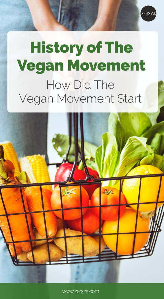 History of Vegan Movement - How Did Veganism Start