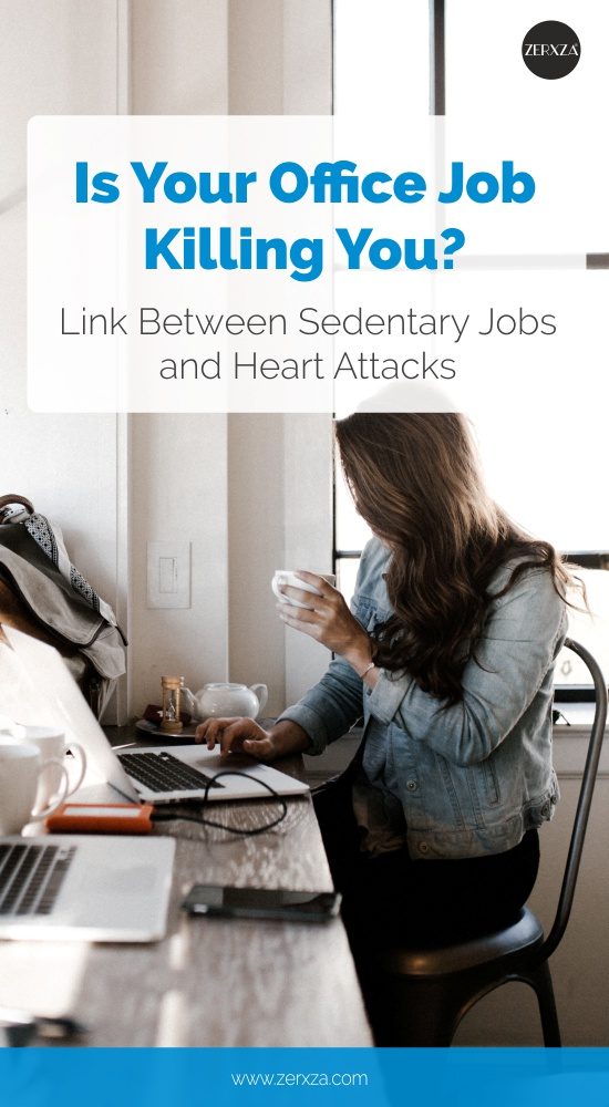 Office Job Health Cons - How Office Job and Sedentary Lifestyle Hurts Your Health