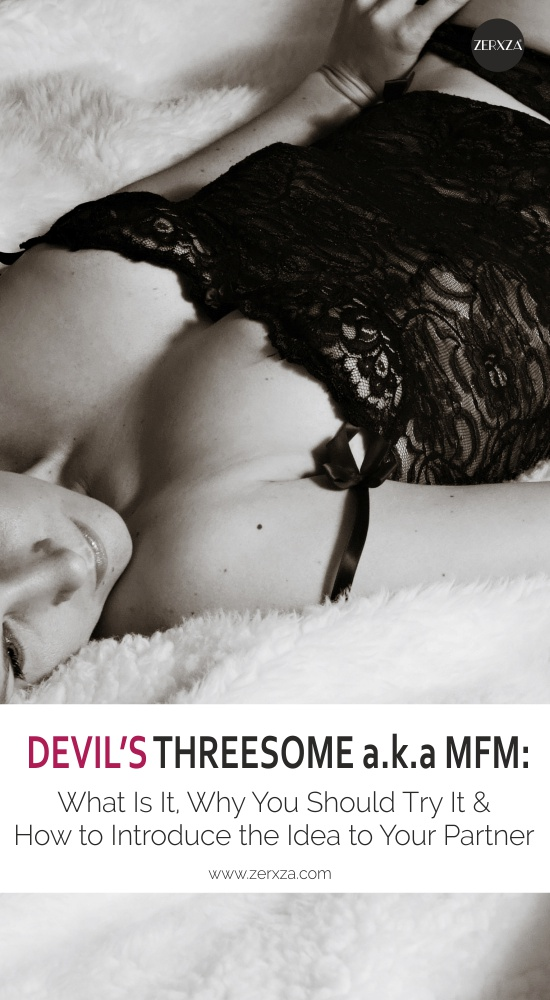 Devil's Threesome a.k.a MFM - What Is It, Why You Should Do It and How to Talk About It With Your Partner