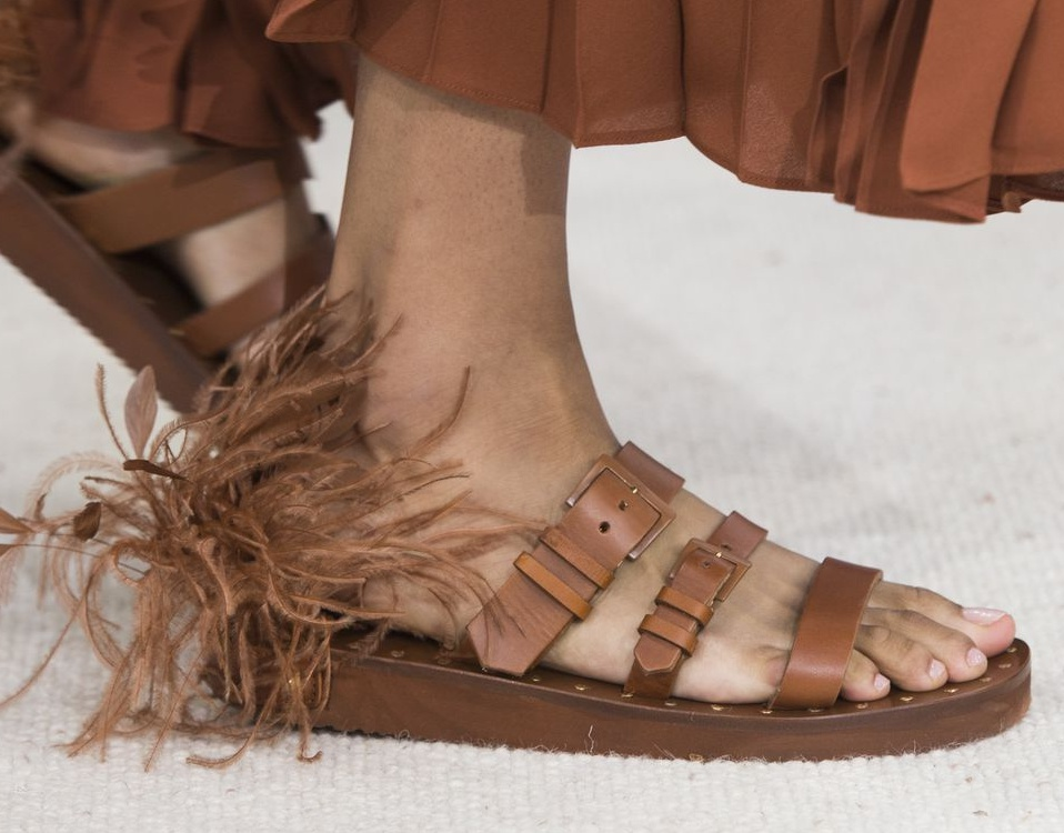 2019 Summer Shoe Trends from Shoe Palace - Feathered shoes