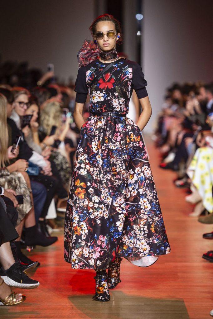 spring-summer-2019-Elie-Saab-Full-Skirt-50s-Influence