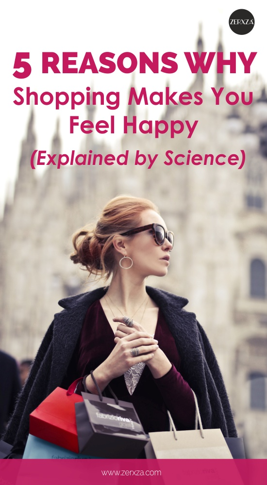 5 Reasons Why Shopping Makes You Happy - Retail Therapy Explained by Science
