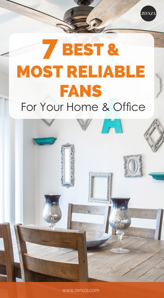 7 Best and Most Reliable Fans for Your Home and Office