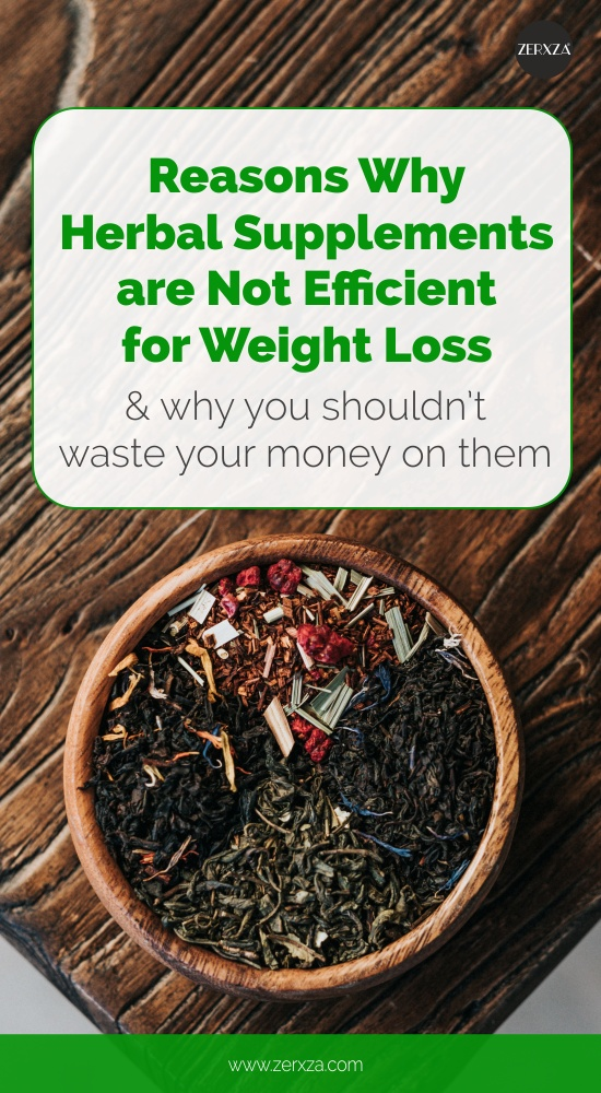 Why You Shouldn't Waste Money on Herbal Weight Loss Supplements