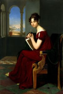 Vogel von Vogelstein, Carl Christian - Young Lady with Drawing Utensils