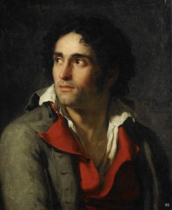 c0f37ed4af81d59182fa2Jacques Louis David. French1748-1845 Portrait presumed to be of his Jailer1794