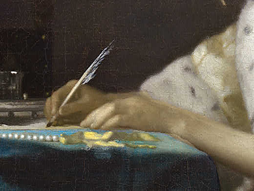 vermeer-a-lady-writing-detail-hands
