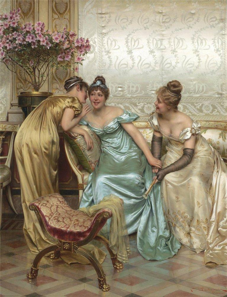 Gossip over tea