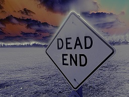 Randal Daluz Dead End Sign
