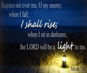 Randall Daluz - Micah7:8