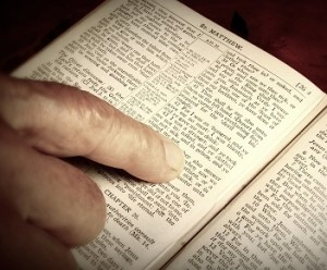 Randall Daluz - Reading Bible
