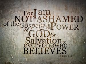 Randall Daluz - Romans 1:16