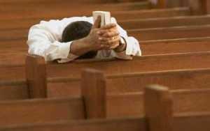 Randall Daluz - Man In Church Praying