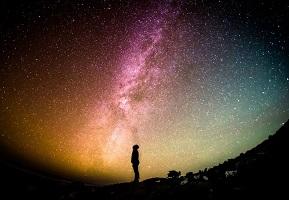 https://www.pexels.com/photo/silhouette-man-person-stars-12567/