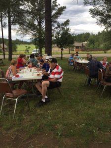 Community Dinner 7-4-2016 2