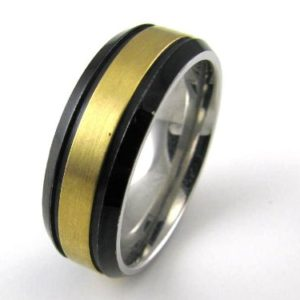 Modern Metals Rings by Travel Jewelry