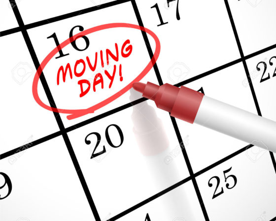 Moving Day…