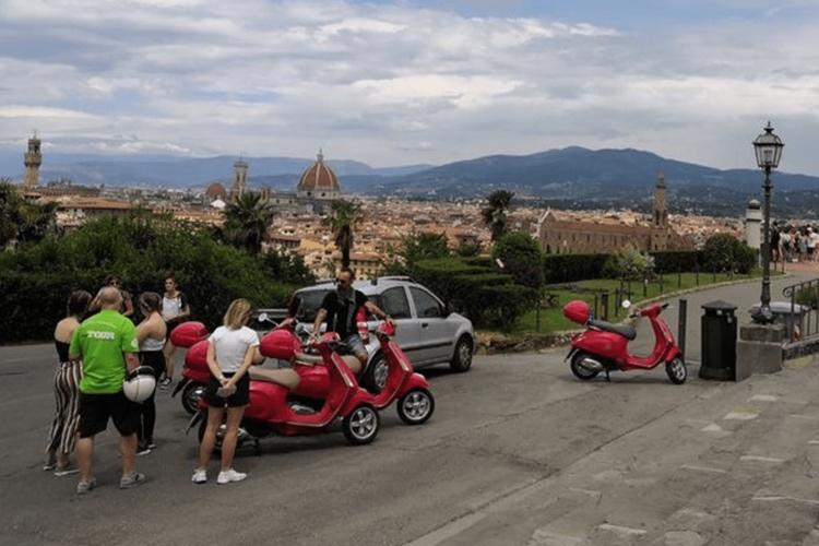 Vespa Tour of Florence - panoramic