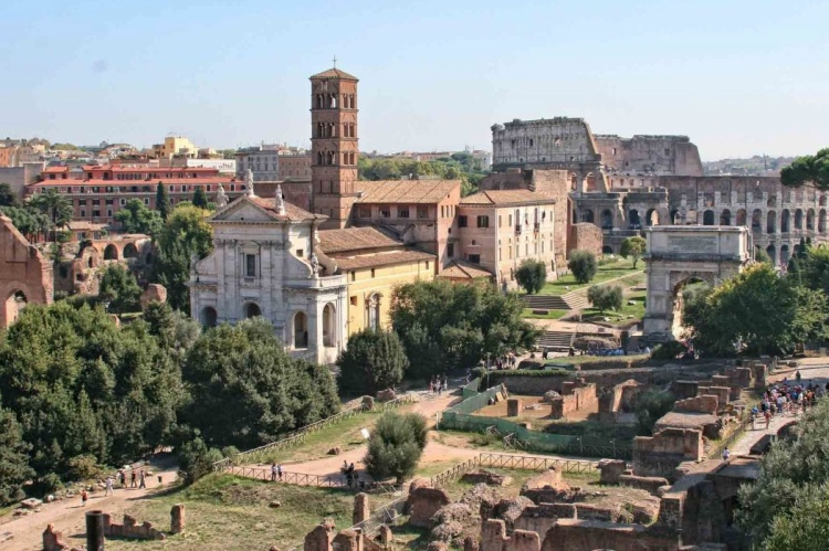 Private Tour Colosseum with Roman Forum and Palatine Hill