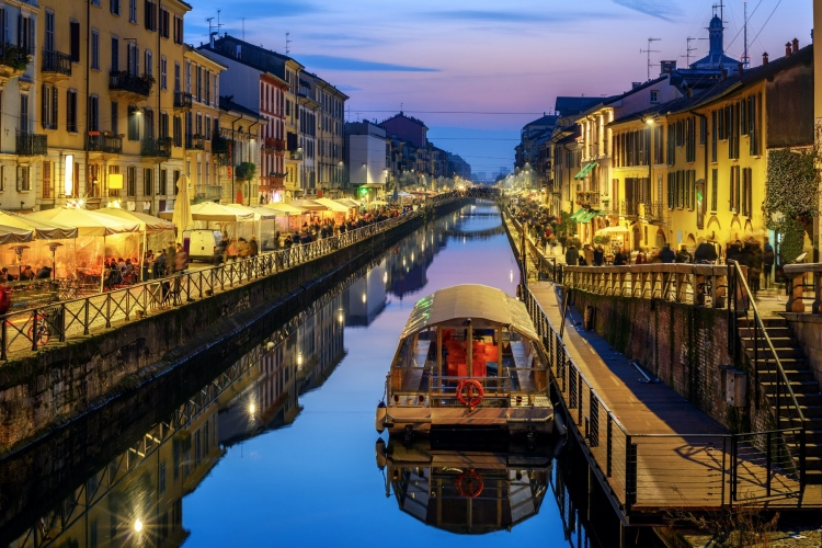 Food & Wine in the Navigli District