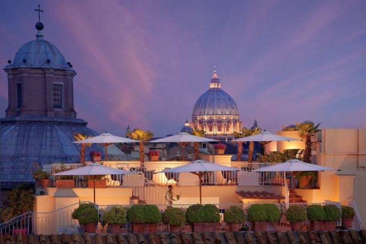 Hotel Raphael - Relais & Chateau - Rome 🔝