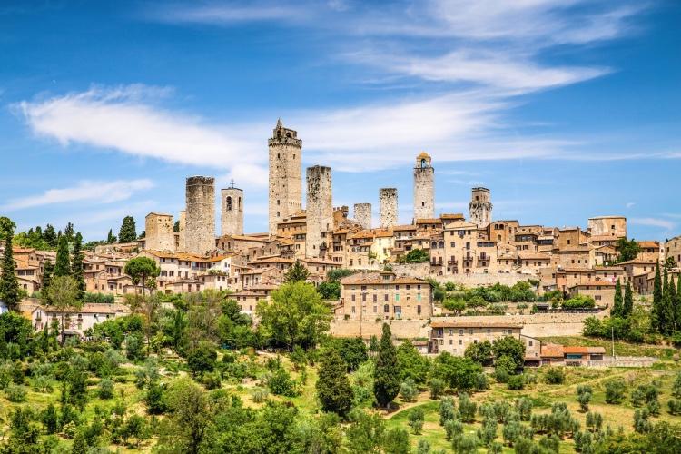 🏆 San Gimignano, Siena and Chianti