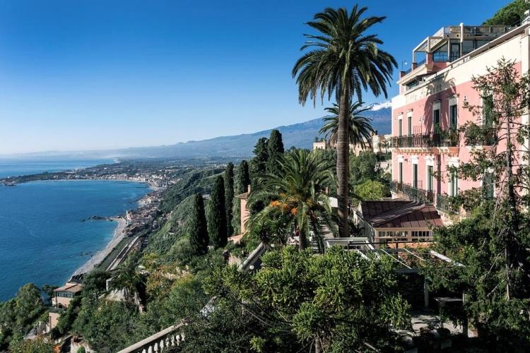 Villa Schuler - Taormina (Catania area)