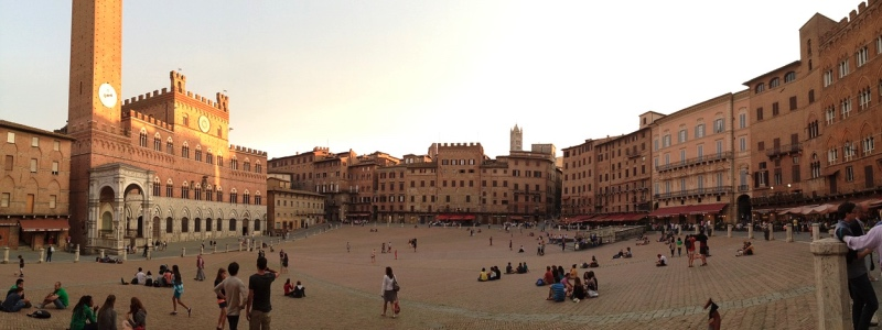 FROM LUCCA TO SIENA