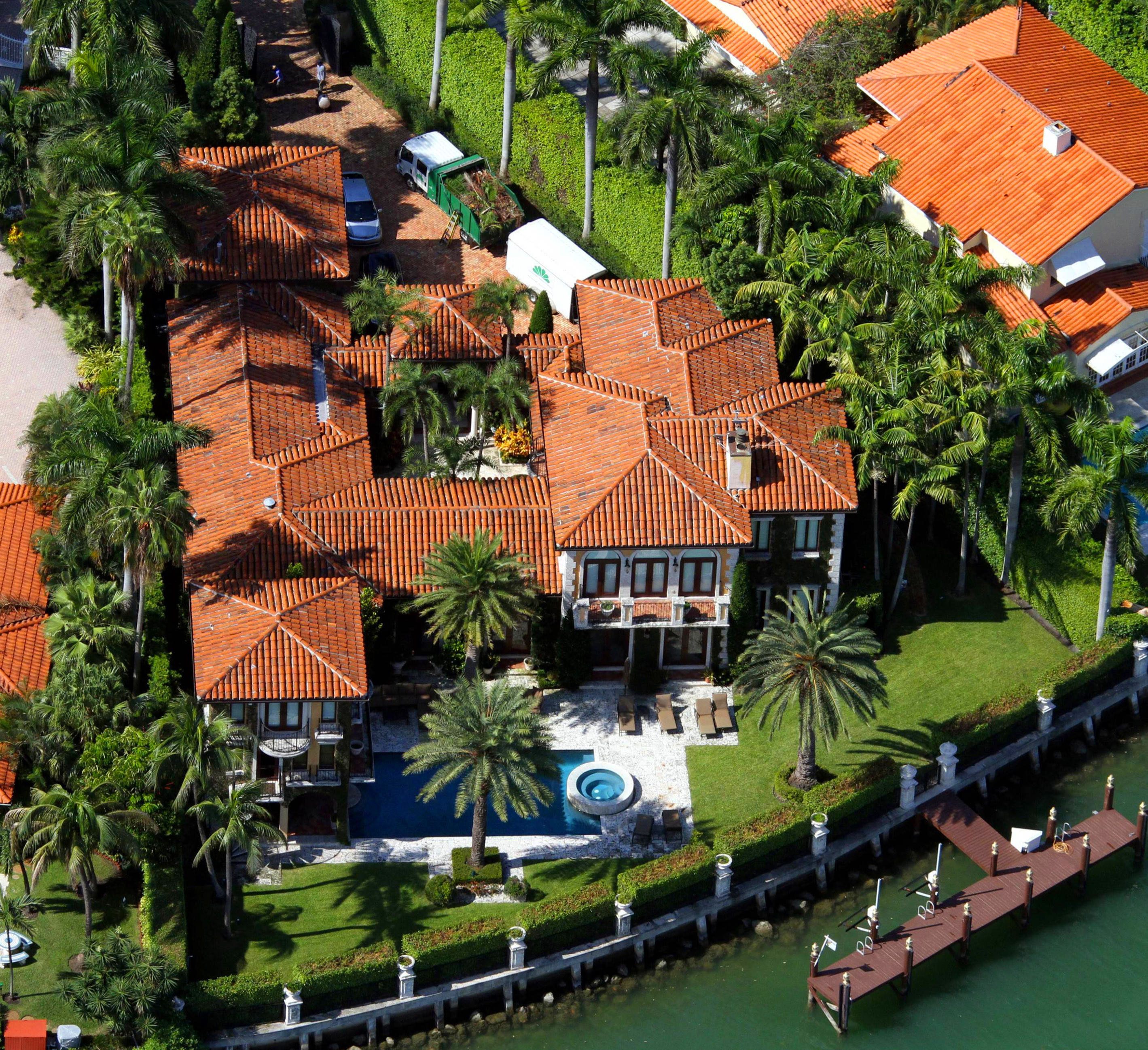 Miami Beach Spanish Style Aerial