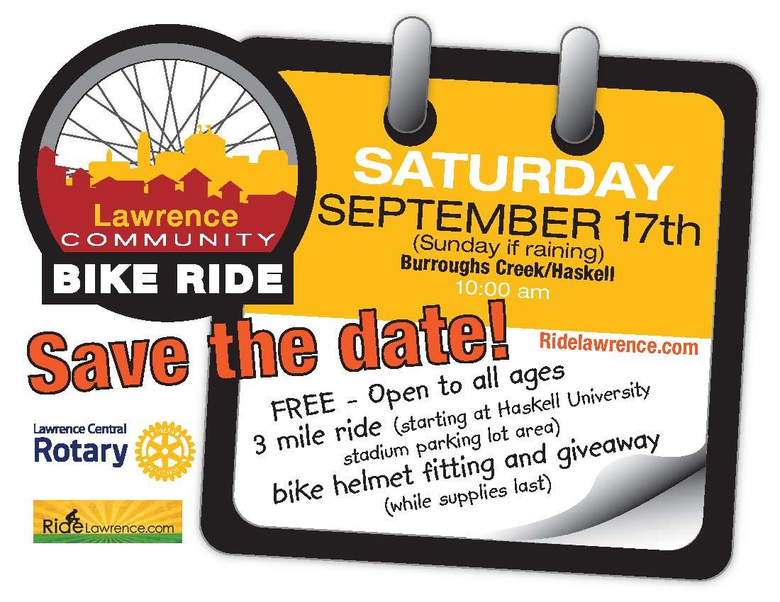 Lawrence Community Bike Ride Fall 2016
