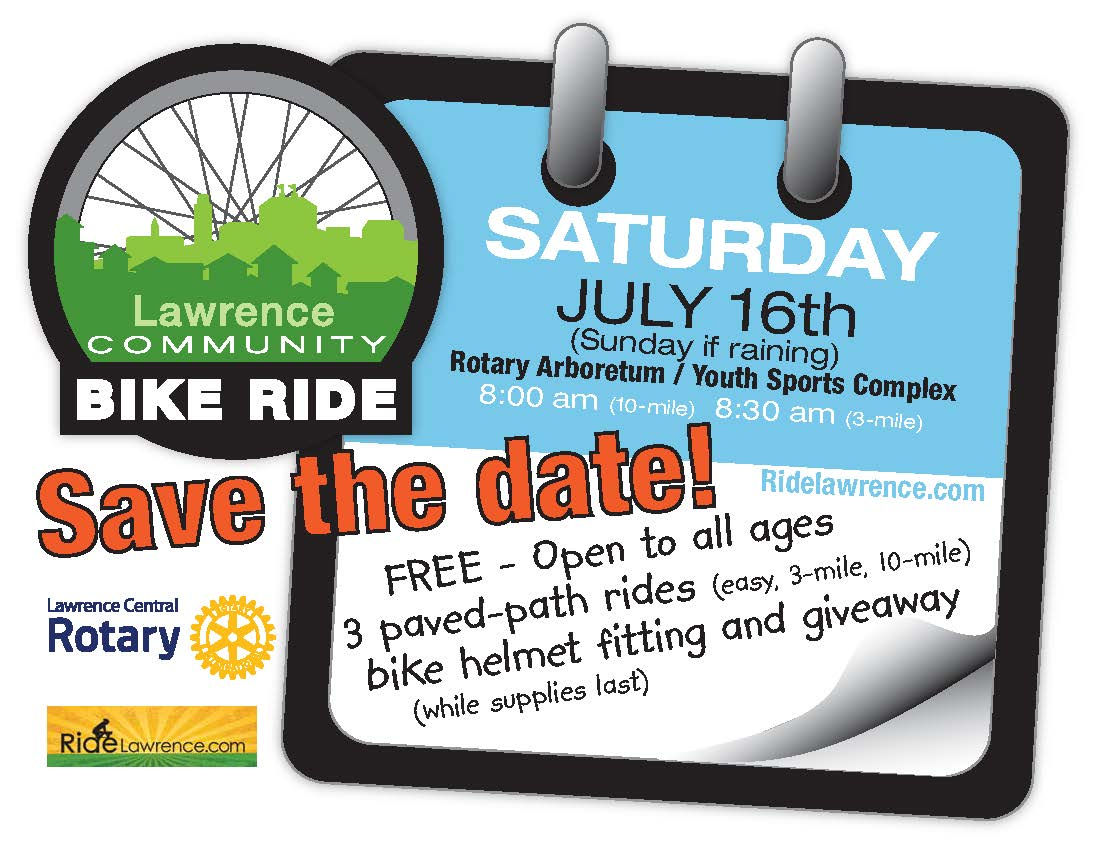 Lawrence Community Bike Ride Summer 2016
