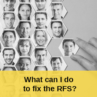 What Can I Do To Fix The RFS?