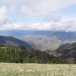 Spectacular Views seen above Hells Canyon in Idaho