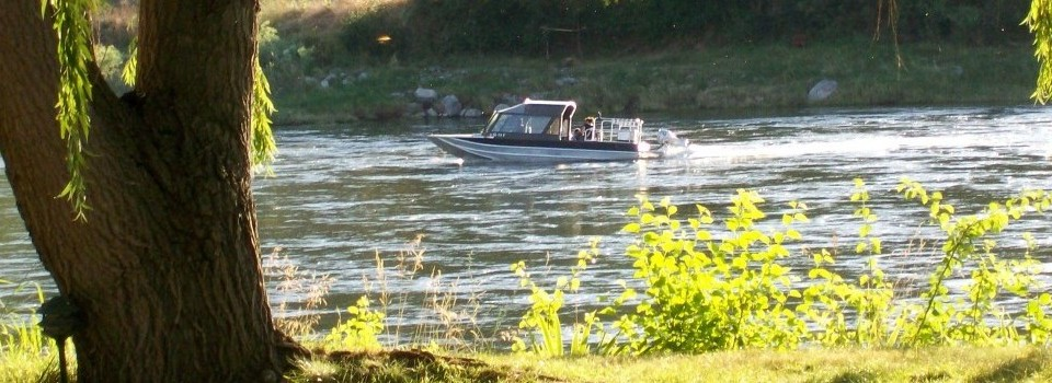 Jet Boat on the Salmon River with put in / take out nearby our RV Park.