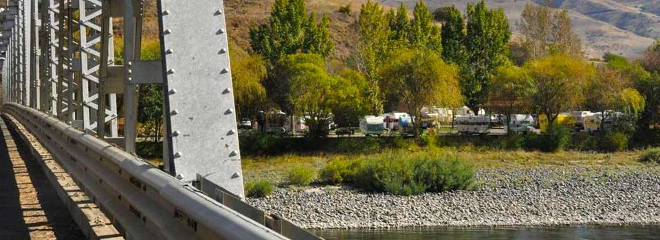 Silver Bridge is located next to Swiftwater RV for easy Hells Canyon access.