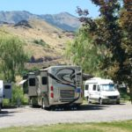 Big Rig Friendly Swiftwater RV Park on Salmon River, outside White Bird, Idaho